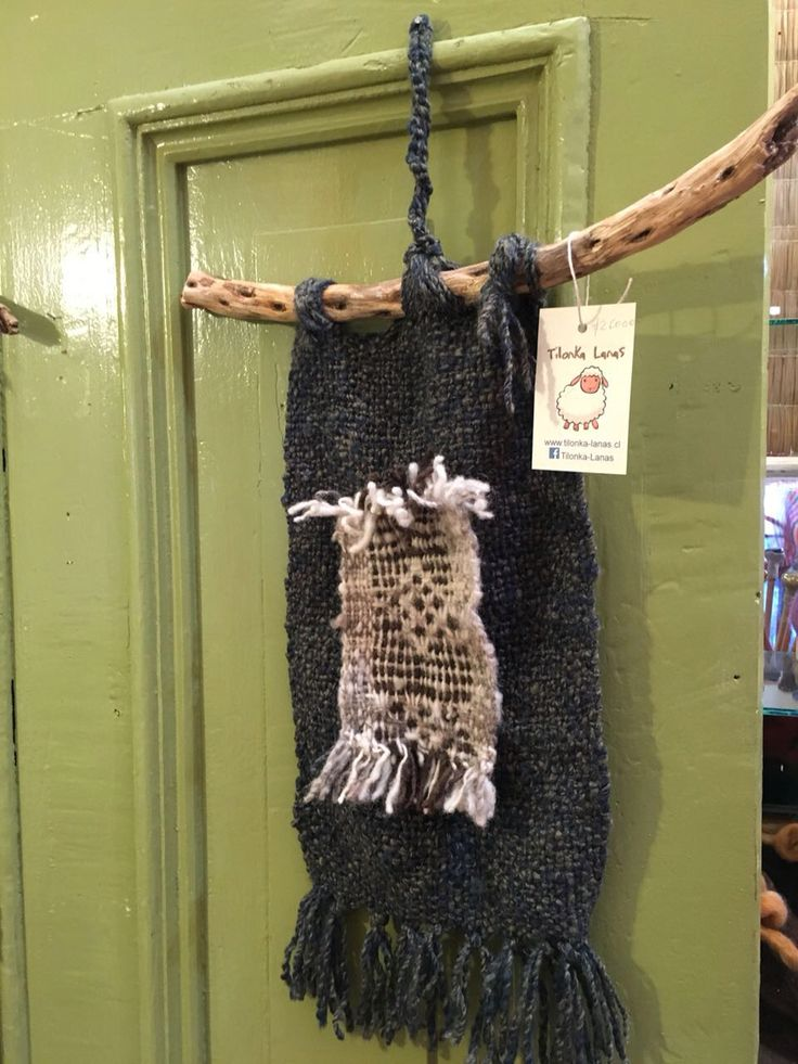 Telar mapuche decorativo para colgar. CLP 30.000 en Tilonka lanas