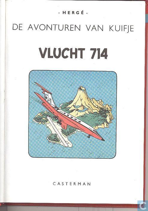 Bandes dessinées - Tintin - Vlucht 714 + Het geheim van de Eenhoorn + De schat van Scharlaken Rackham
