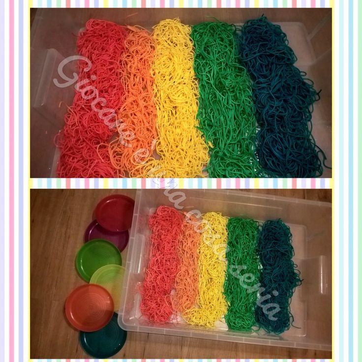 Spaghetti colorati - Coloured Spaghetti