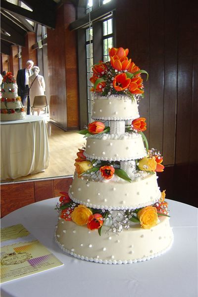 5 separate wedding cakes 17 best images about weddings in orange on 10450