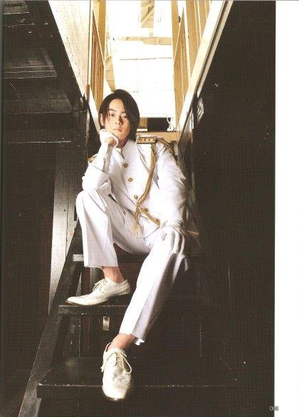 Beautiful masaki in white clothes ...