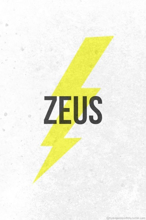 I chose Zeus because Percy is the son of the sea god and Zeus and Poseidon have a rivalry
