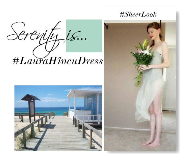"""""""Beach dress"""" by laura-hincu on Polyvore"""