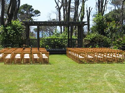 Mendocino Coast Botanical Gardens Wedding Venues Fort Bragg Weddings North 95437