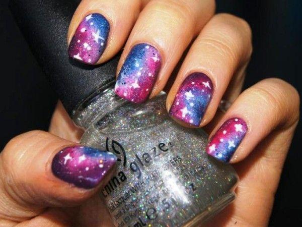 Star Cute Nail Designs for Short Nails