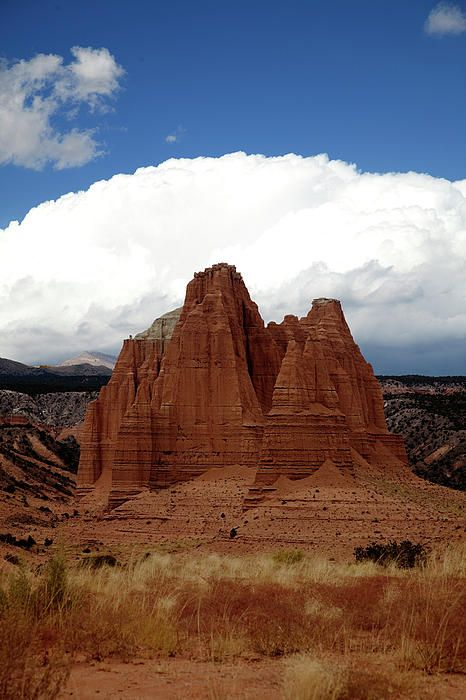 The Valley of the Cathedrals, Capital Reef National Park, Utah; photo by Southern Utah Photography