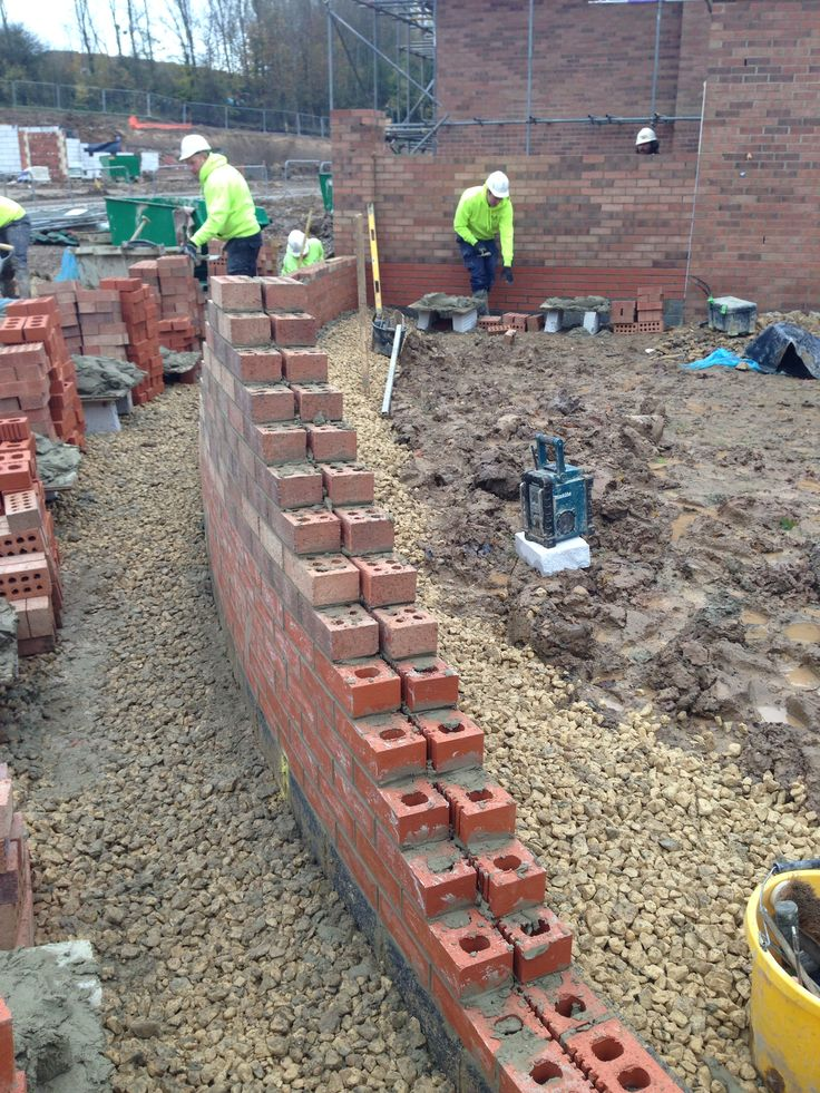 Brick Wall Construction : Best bricklayers life images on pinterest brick