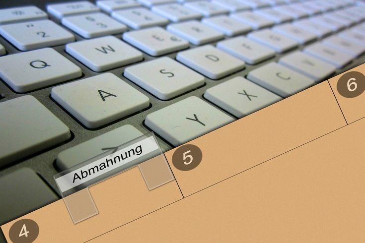 Die Abmahnung und ihre Regeln www.tempbus.de