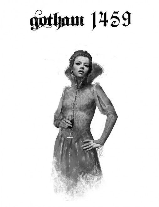 Gotham 1459, igor kieryluk (Poison Ivy, I believe.)