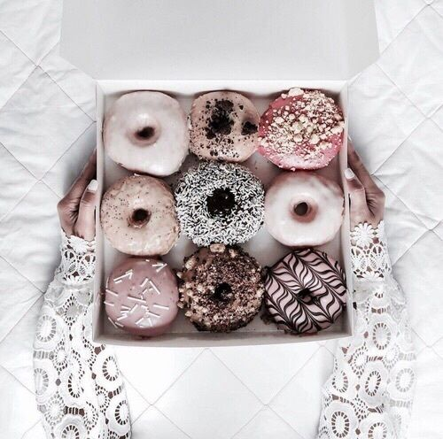 Cute and yummy donuts