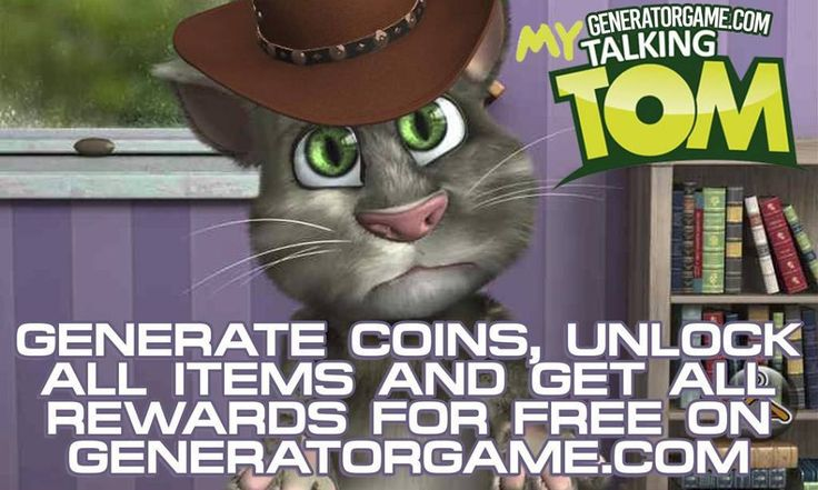 LETS GO TO MY TALKING TOM GENERATOR SITE!  [NEW] MY TALKING TOM HACK ONLINE 2016 REAL WORKS: www.online.generatorgame.com You can Unlock All Items and Get All Rewards for Free: www.online.generatorgame.com Also add required amount of Coins! 100% Works: www.online.generatorgame.com Please Share this real hack online guys: www.online.generatorgame.com  HOW TO USE: 1. Go to >>> www.online.generatorgame.com and choose My Talking Tom image (you will be redirect to My Talking Tom site) 2. Enter…