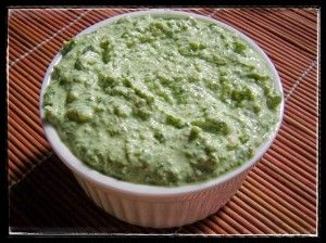 Creamed Basil Pesto is a tasty and healthy dip, pasta sauce or sandwich spread. It is a great way to give plain cottage cheese a flavour boost. By www.kellyfrancis.co.za