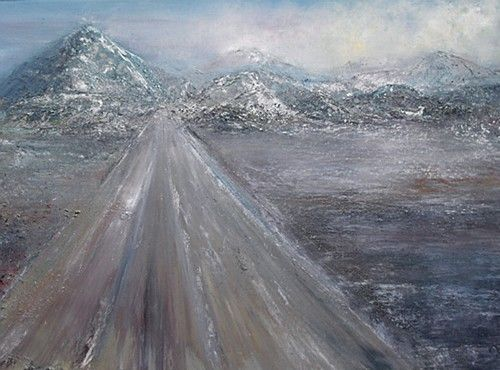 "#TheRoadHome by  #MariaNoonanMcDermott  Measurements: 61cm x 91cm (24 X 36"") Medium: #OilPainting On Canvas, framed"
