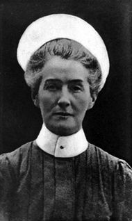 The birth on this day 4th November 1865 of Edith Cavell, British nurse in Brussels WW1 who was executed by the Germans for helping allied soldiers escape