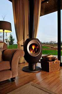 Stunning log fires