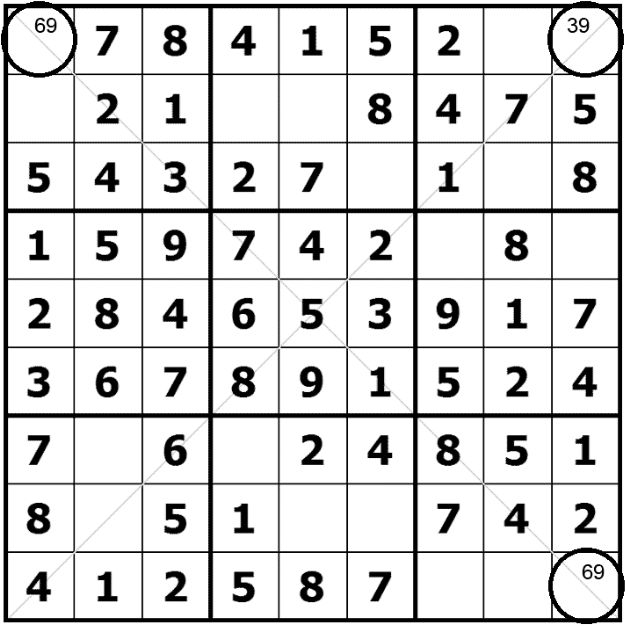 How to solve Diagonal Sudoku X