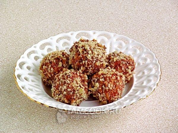 Рецепт конфет «Белочка»