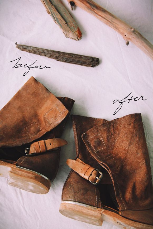 How To Distress Your Boots The Free People Way
