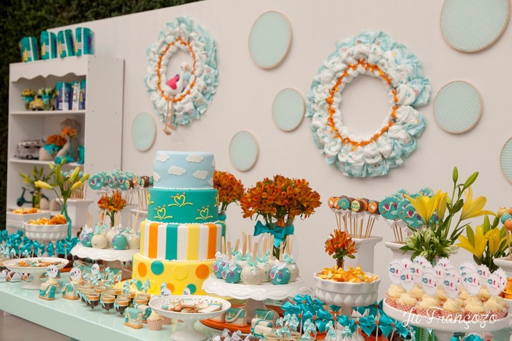 1000 images about baby shower on pinterest for Decoracion para ninos