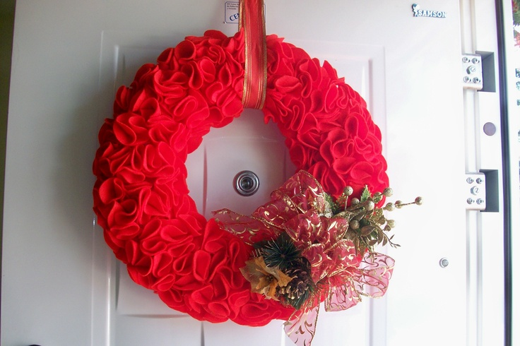 Corona de navidad (Christmas Wreath)