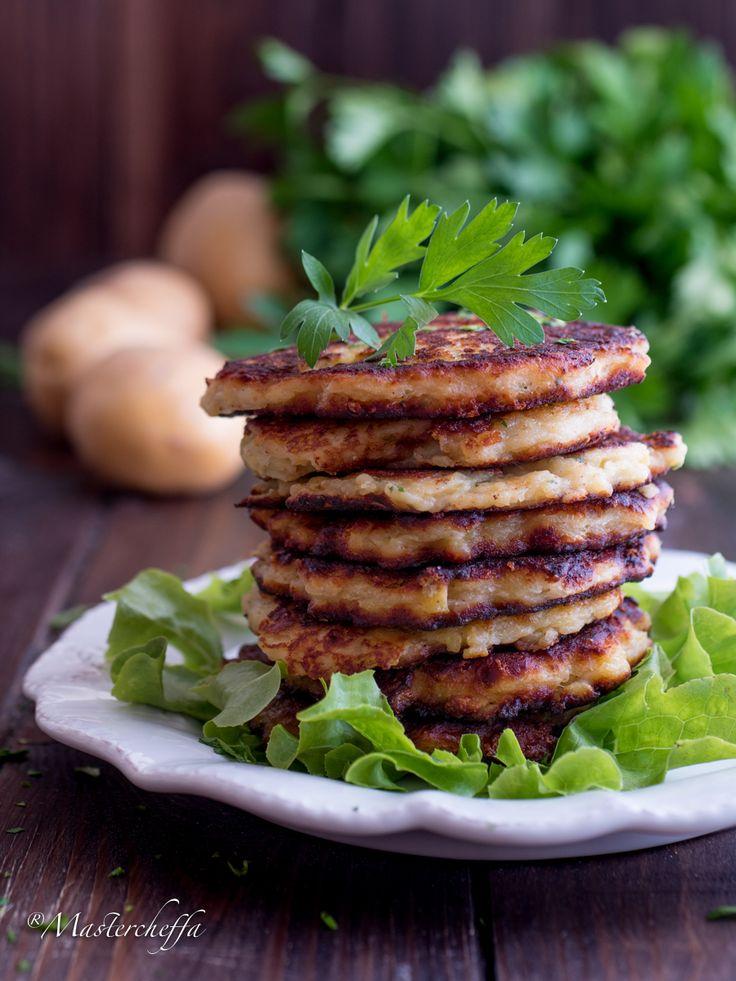 Pancake salati di patate