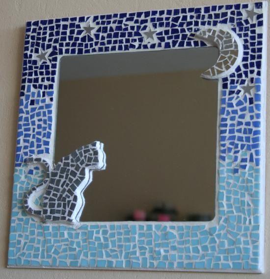 1000 id es sur le th me miroirs mosa que sur pinterest for Miroir en mosaique