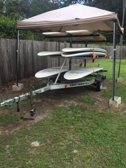 For sale! 7 SUP ATX stand up paddleboards gear with Continental Trailer package | eBay