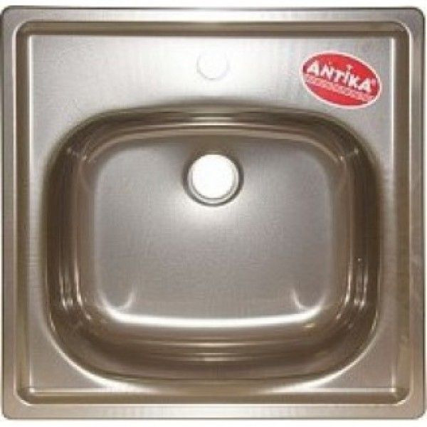 Мойка кухонная стальная подвесная Antika 500х500 мм, коричневая