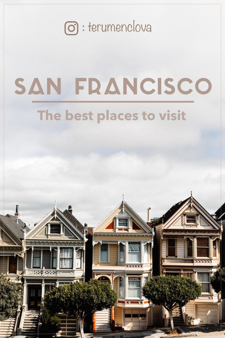 A perfect city guide for San Francisco featuring the best coffee places, restaurants and the most photogenic spots.