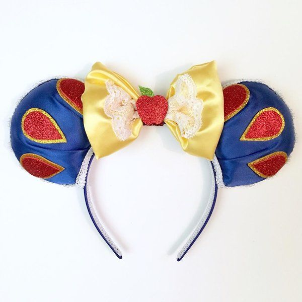 Snow White inspired Magic Mouse Ears