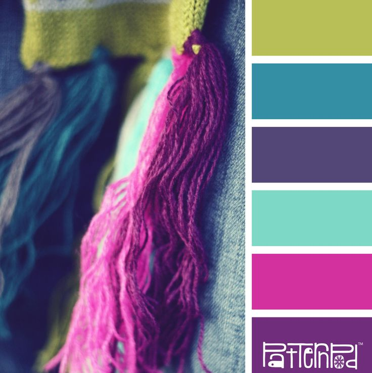 Yummy Yarn #patternpod #patternpodcolor #color #colorpalettes