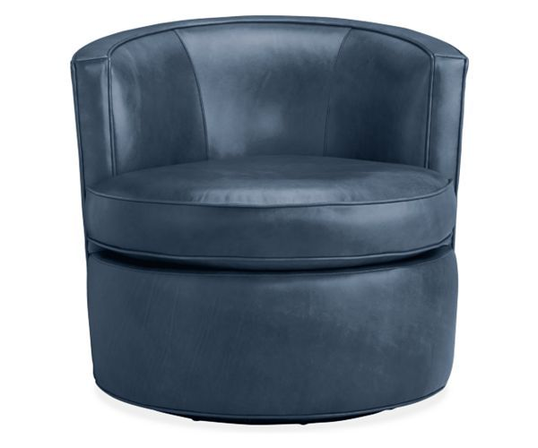 Otis Leather Swivel Chair - Chairs - Living - Room & Board - 15 Best Images About Furniture On Pinterest Turquoise Sofa