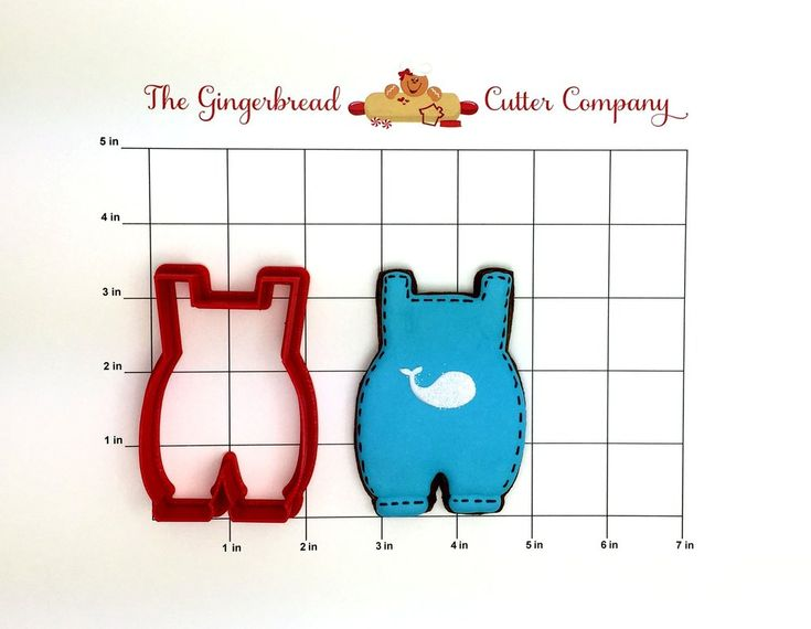 Baby Romper Cookie Cutter
