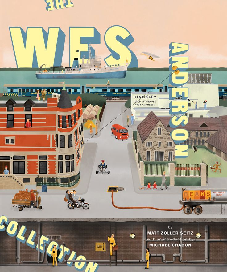 The Wes Anderson Collection by Matt Zoller Seitz. NEED!