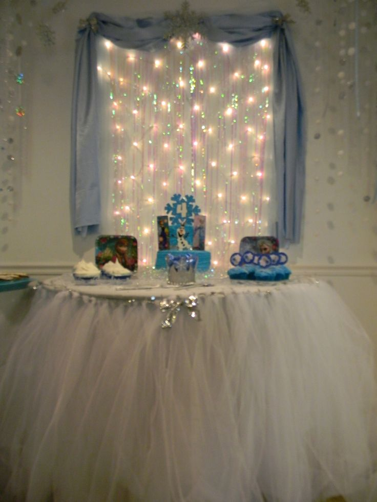 Lily's Frozen Birthday Party