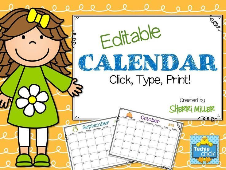 Editable Calendar Using Jquery : Best images about tpt misc lessons on pinterest