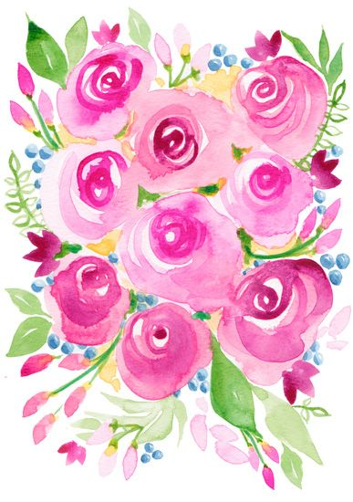 Please Vote for my Art Print submission Spring Rosa! Thank you! xo Michelle Mospens