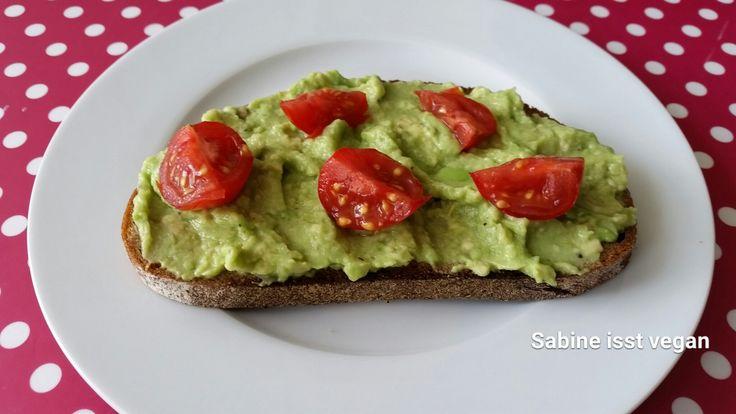 Avocado-Aufstrich #vegan #Rezept