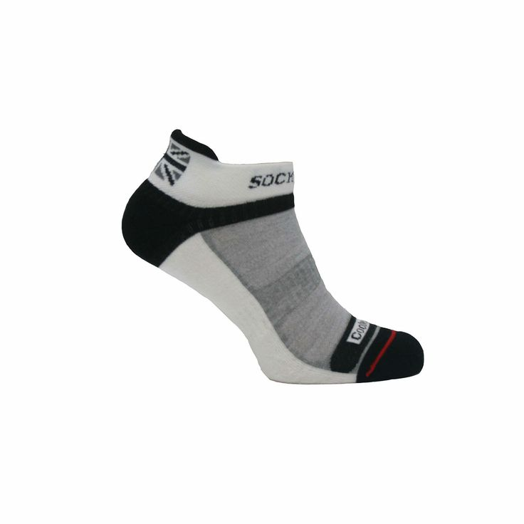 Runner's anklet socks - specially designed to provide the utmost support, comfort and shock absorption.  Made in the UK  http://www.madecloser.co.uk/sports-leisure/sportswear/mens-cool-runner-anklet