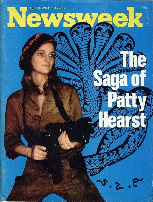 """Patricia Campbell """"Patty"""" Hearst (born February 20, 1954), now known as Patricia Campbell Hearst Shaw, is an American newspaper heiress, socialite, actress, kidnap victim, and convicted bank robber. Her kidnapping case is held by many as an example of Stockholm syndrome."""