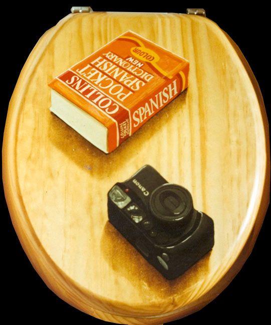 49 best images about trompe l 39 oeil ideas on pinterest hand painted furn - Trompe l oeil toilette ...