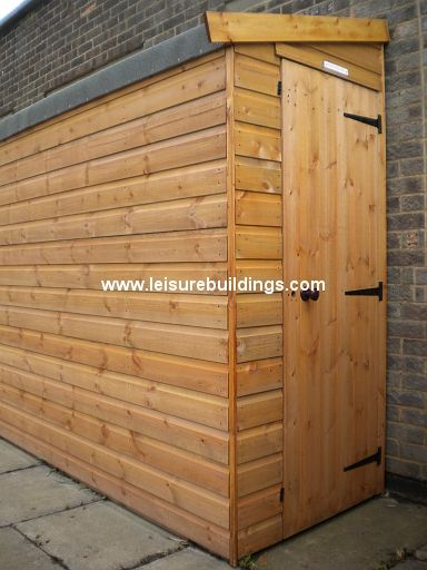 12ft x 3ft Streamline narrow shed in T&G Shiplap cladding