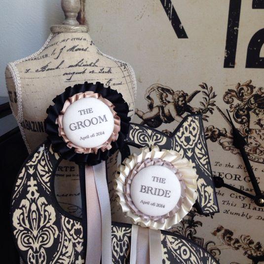 クラシカルでかわいい♡「ロゼット」を使ったオシャレな結婚式アイディア集|DERELLA(デレラ)