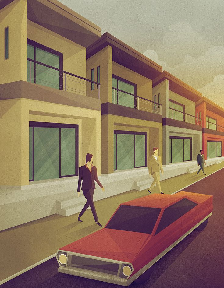 Super Stylish Illustrations by Justin Mezzell | Abduzeedo Design Inspiration & Tutorials