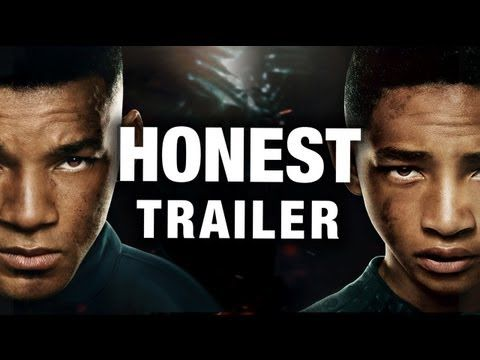 Honest Trailers - After Earth - I haven't even seen the movie and I couldn't stop laughing! So funny!