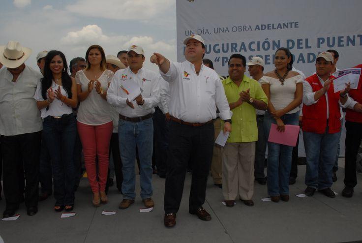 La construcción del puente Prosperidad beneficia a más de 30 mil habitantes de Manlio Fabio Altamirano, pero también de Soledad de Doblado, Jamapa y Cotaxtla.