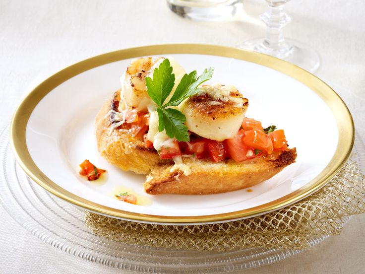 Weihnachtliche Vorspeisen - Auftakt zum Festessen - bruschetta-mit-tomaten  Rezept