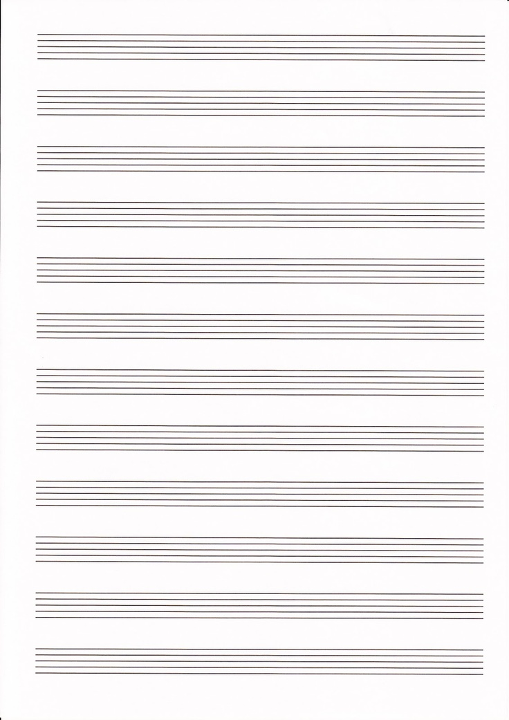55 best Line paper images on Pinterest Free printables - music paper template