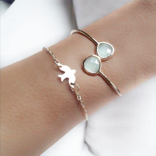bracelet oiseau femme – adeline