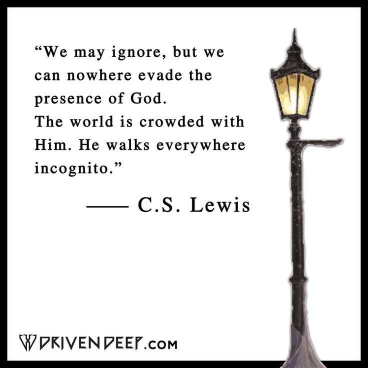 C.S. LEWIS QUOTES — www.Driven Deep.com